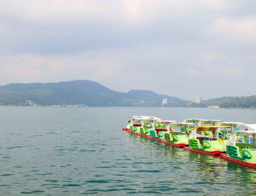 sun moon lake day trip from Taichung Taiwan