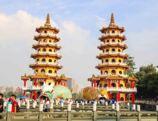 dragon and tiger pagoda kaohsiung itinerary