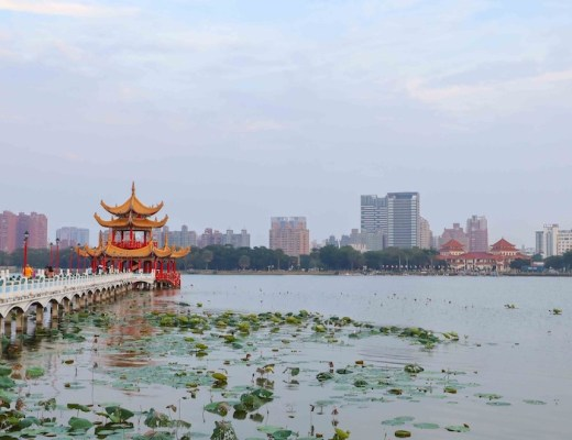 lotus pond kaohsiung taiwan how to visit
