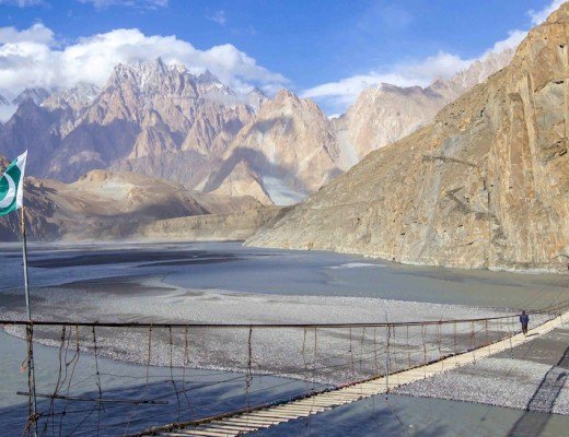 Hussaini Suspension bridge | 2 week pakistan group tour