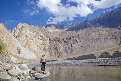ellie quinn and passu mountains   Pakistan itinerary