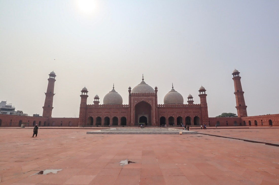 Badshahi Mosque Lahore | Pakistan itinerary