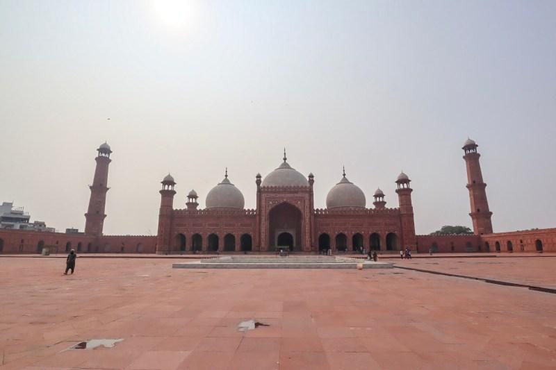 Pakistan itinerary, Badshahi Mosque Lahore