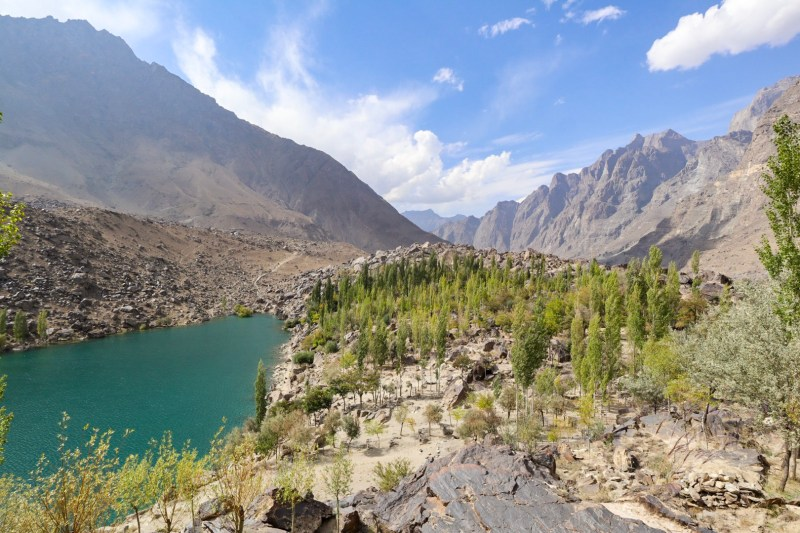 Upper Kachura Lake and Mountains | Pakistan itinerary