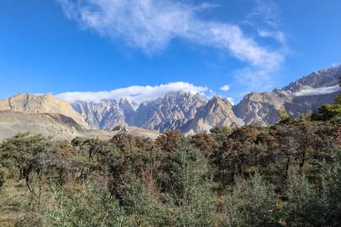Passu Cones and Mountains   Pakistan itinerary