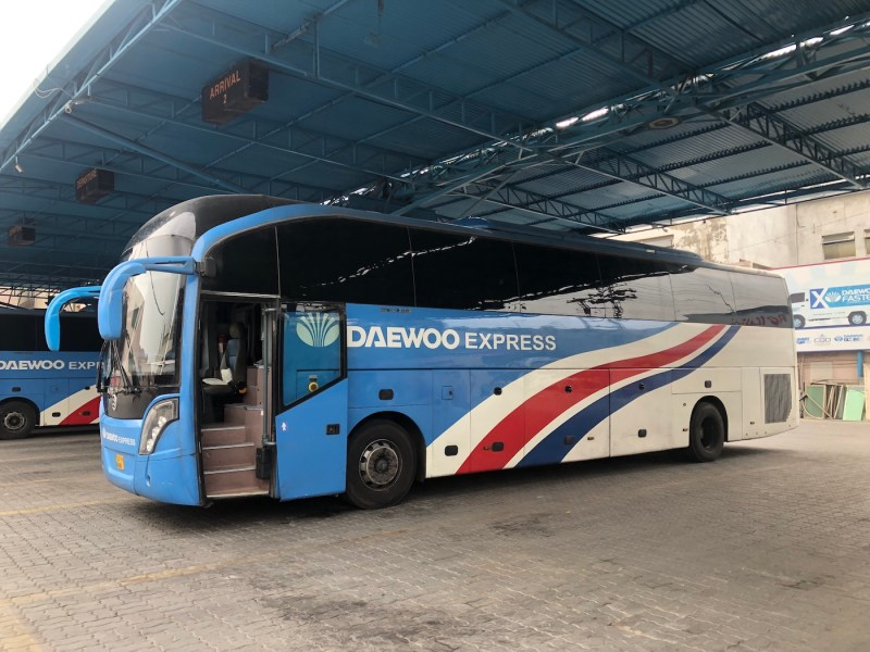 Daewoo coach Pakistan | Pakistan travel tips
