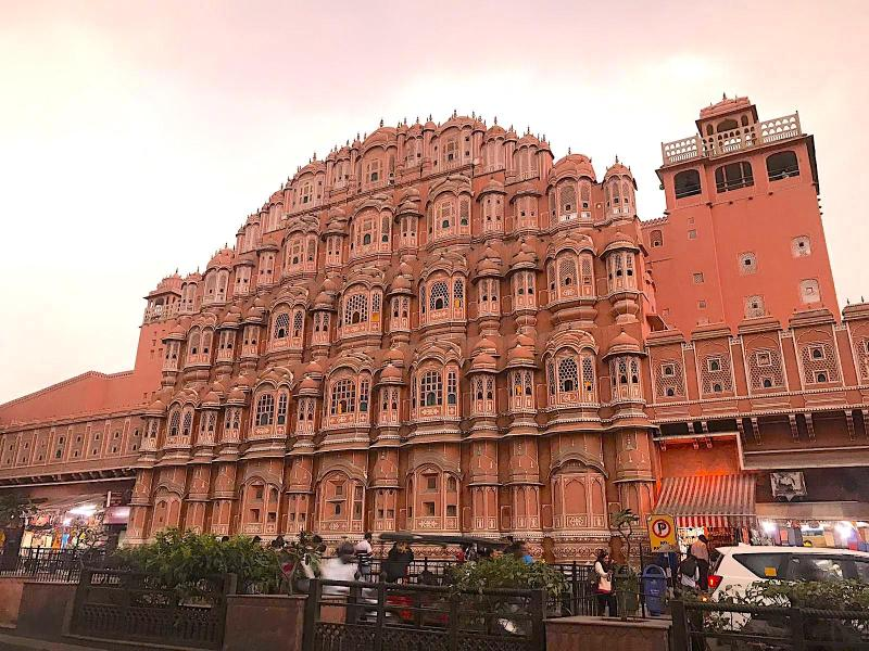 Jaipur Hawa Mahal | best places to travel in Asia December and January