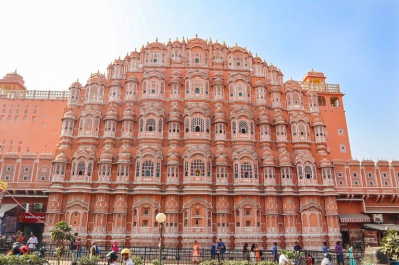 Hawal Mahal pink building in Jaipur | planning a trip to India