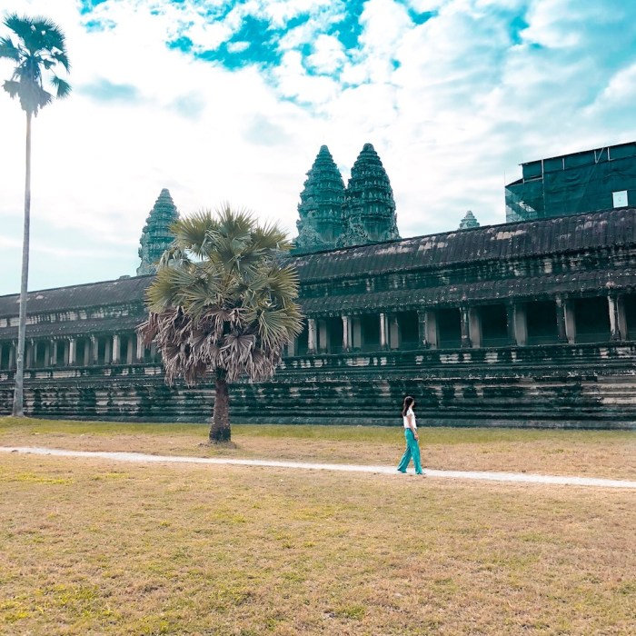 angkor wat temple | best places to travel in Asia December and January