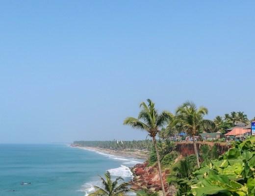 Varkala Beach Cliffside travel guide