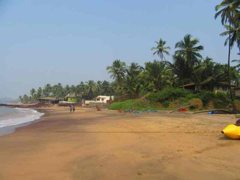 Anjuna Beach | best beaches in Goa for foreigners