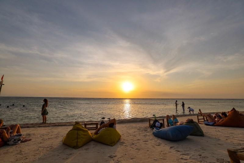 Gili Islands, Gili Trawangan Sunset Beach