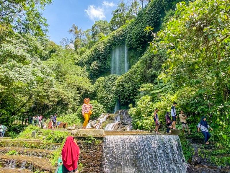 Benang Stokel & Benang Kelambu Waterfalls | Lombok itinerary