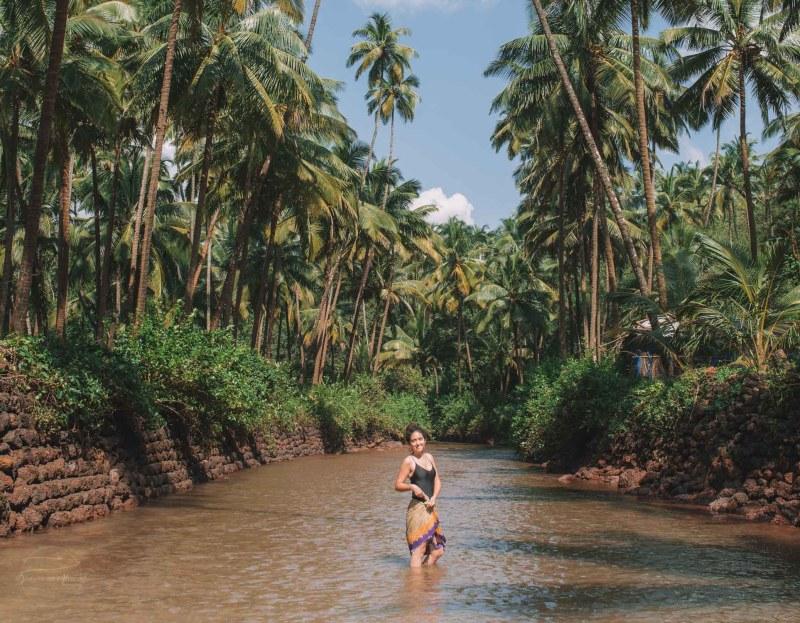 Blue Lagoon Cola Beach | best beaches in Goa for foreigners