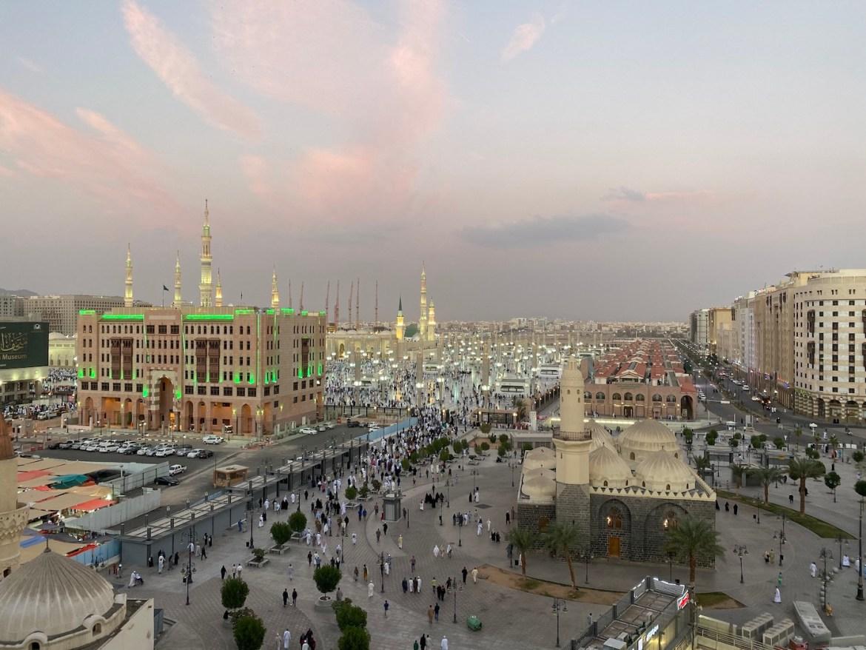 Can non-muslims visit Madinah?, Mawaddah Altaqwa Hote Medina Bedroom Window View