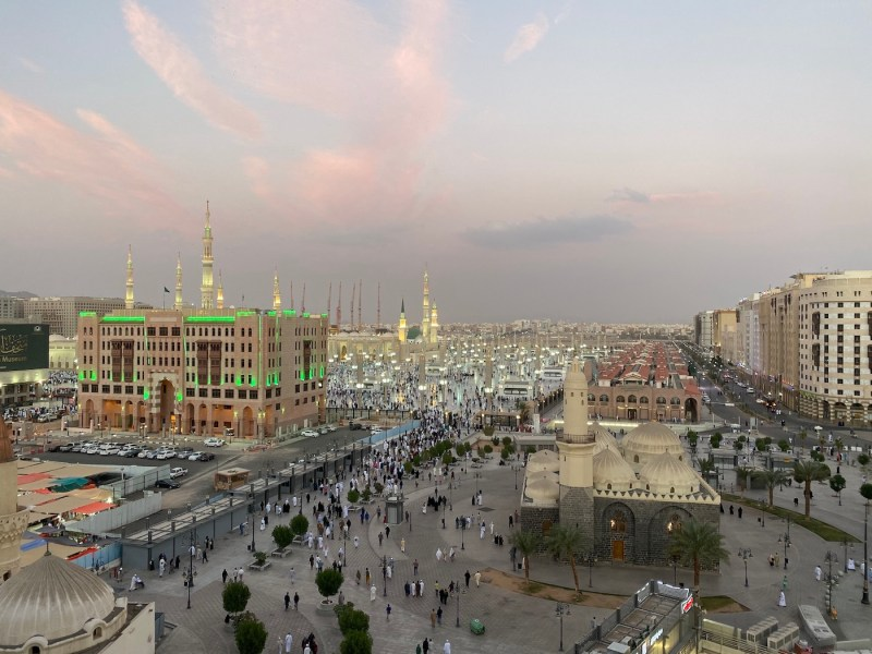 Can non-muslims visit Madinah?, Mawaddah Altaqwa Hote Medina Bedroom Window View