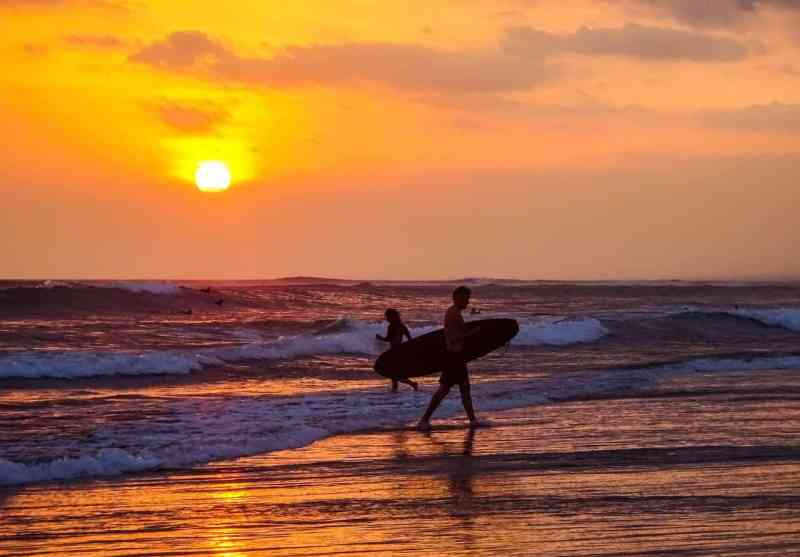 Berawa Beach Canggu Sunset | Best Bali Sunset