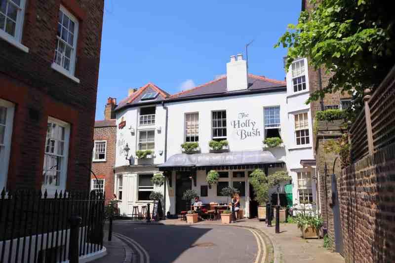 Pubs in Hampstead, Holly Bush Pub Hampstead