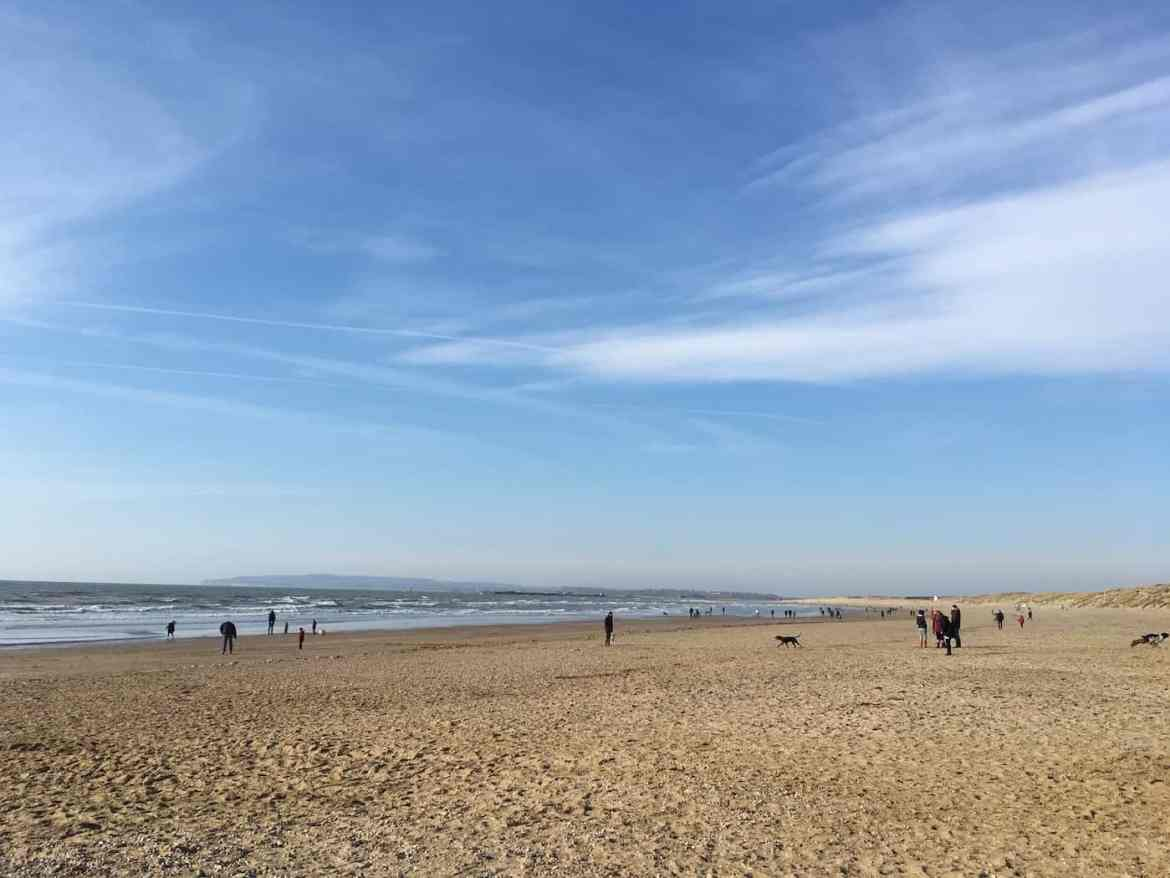 Road Trip from London, Camber Sands
