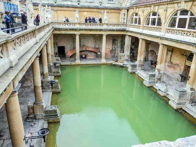 Day Trip to Bath from London, Roman Bath Museum
