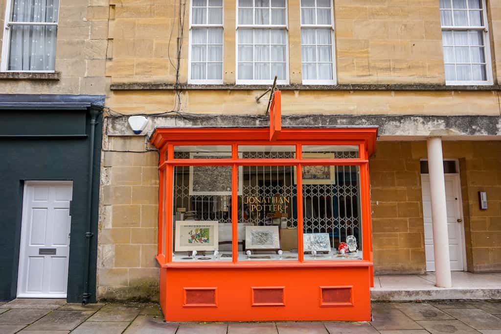 Day Trip to Bath from London, Shops