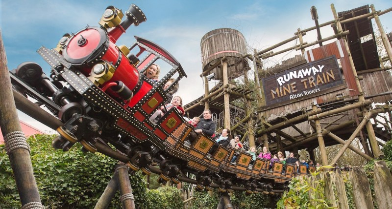Day Trips from Birmingham, Alton Towers