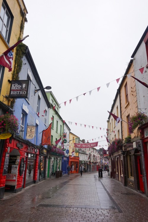places to visit west coast of Ireland, Galway
