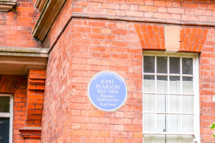 Things to do in Hampstead, Hampstead House Plaques