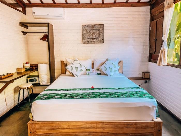 Gili Air Villas, Villa Bayu Rimba Villas bedroom