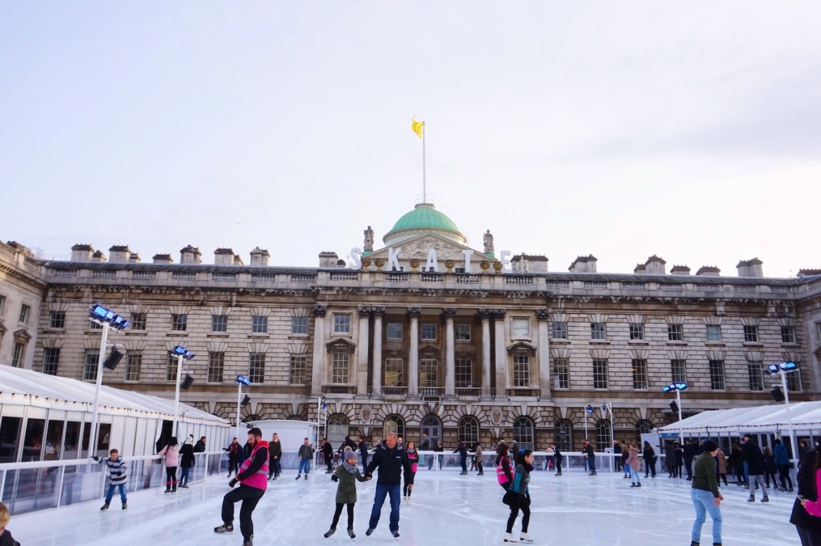 things to do in winter in London, Somerset House Ice Skating