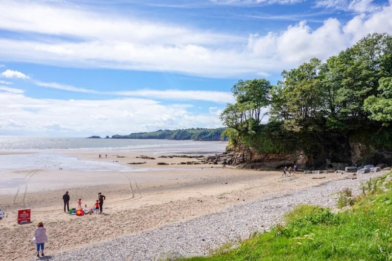 things to do in Saundersfoot, Saundersfoot Beach