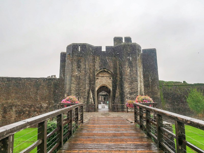 day trip from Cardiff, Caerphilly Castle