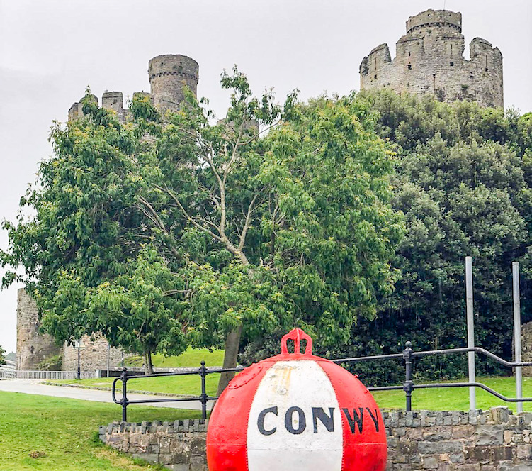 wales road trip, Conwy