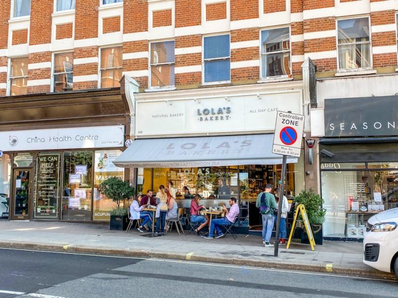 Lola's Bakery West Hampstead Brunch