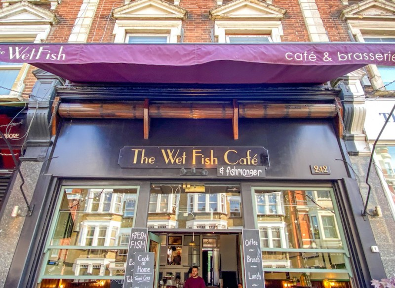 The Wet Fish Cafe West Hampstead Brunch