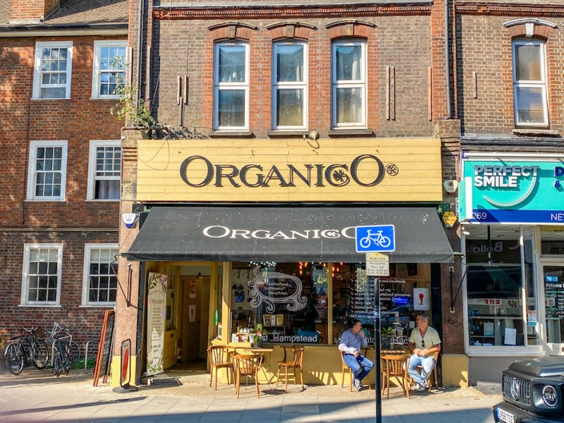 Organico, Cafes in West Hampstead