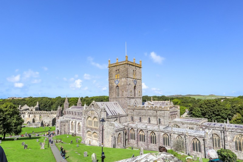 Wales Road Trip, St Davids Cathedral