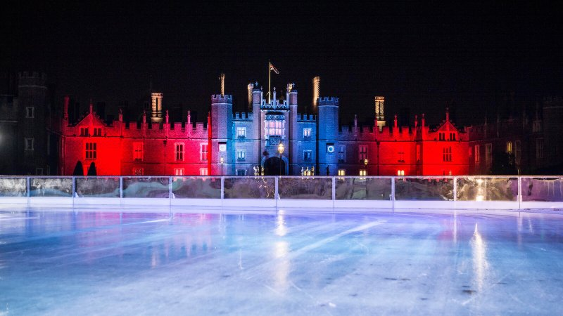 day trips from London in winter, Hampton Court Pala
