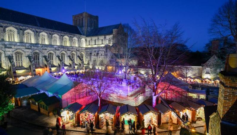day trips from London in winter, Winchester
