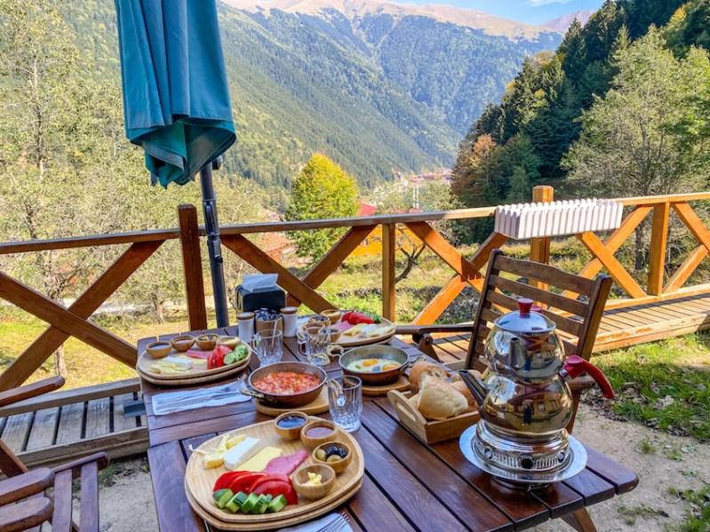 things to do in Uzungöl, Uzungöl Breakfast