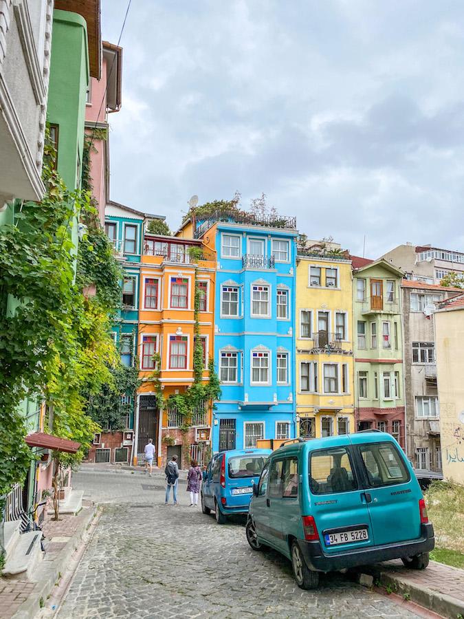 Balat Istanbul Colourful Houses