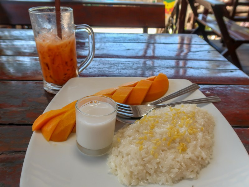 Online Thai Cooking Classes, Mango sticky rice