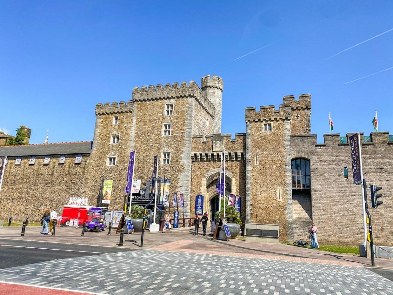 Staycation in Wales, Cardiff Castle