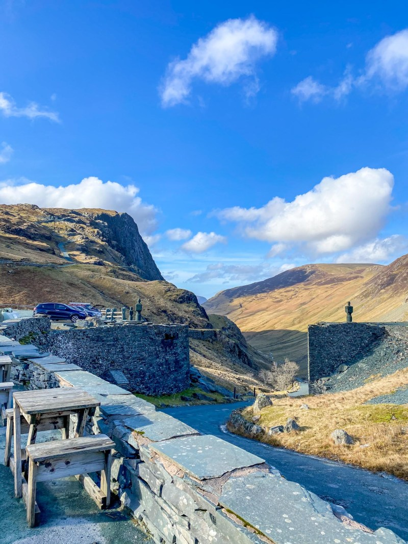 Lake District Day Trip, Honister Slate Mine