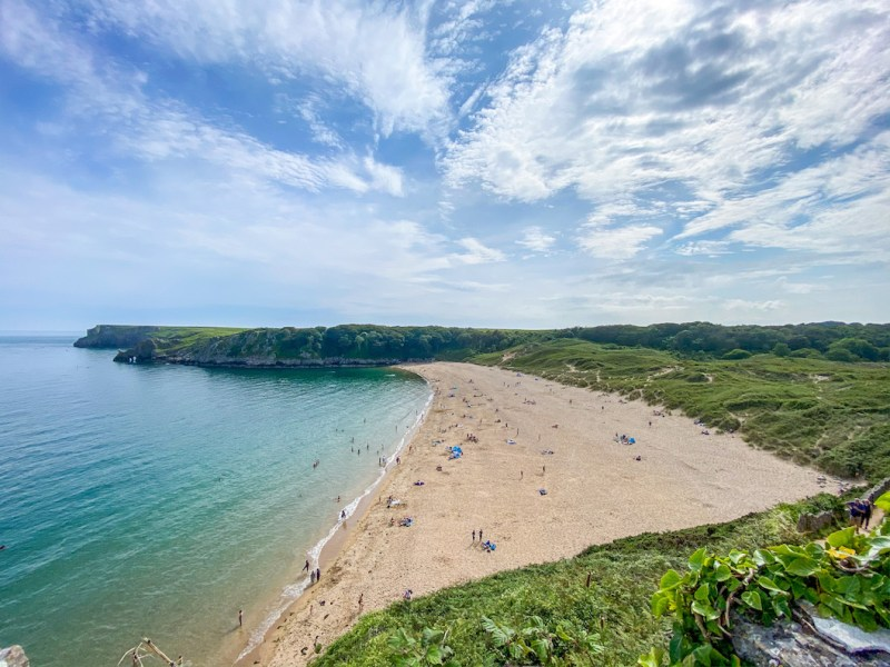 staycations in wales, Pembrokeshire beach