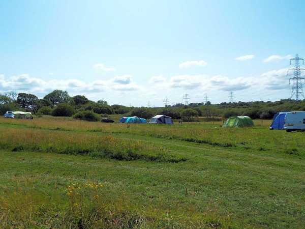 Covert Farm Camping Field Near Tenby