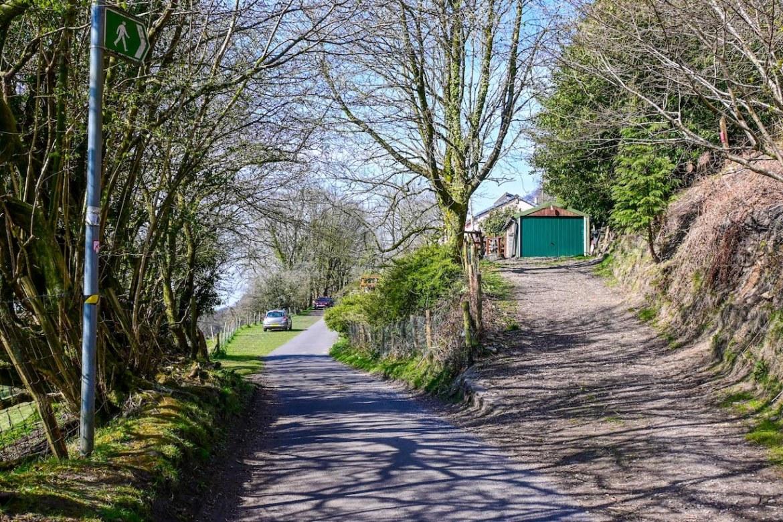 footpath to Garth Hill, Garth Mountain Walk