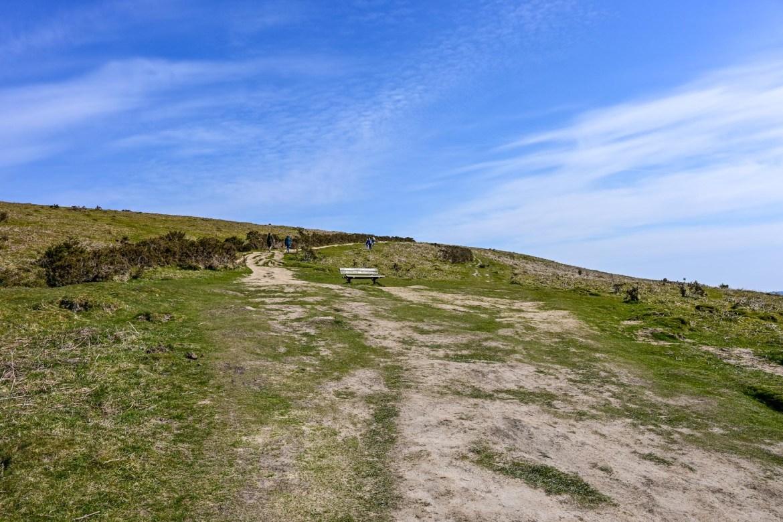at the top of Garth Mountain, Garth Mountain Walk