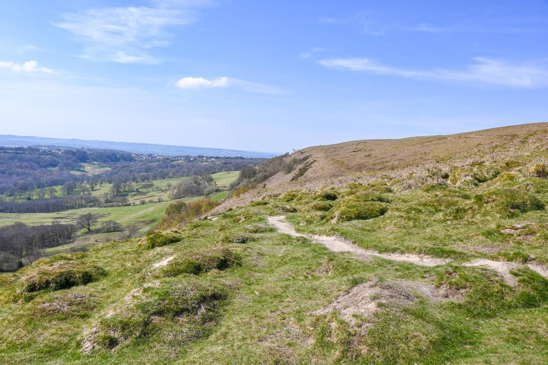 footpath to the top of Garth Mountain, Garth Mountain Walk