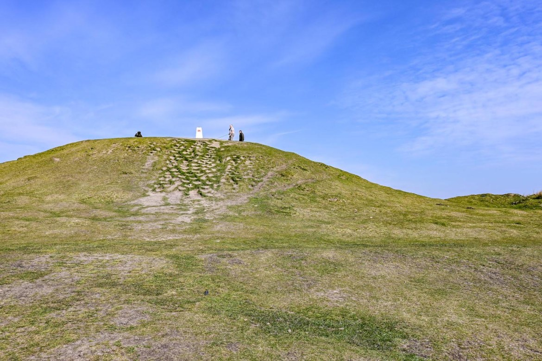 top of Garth Hill